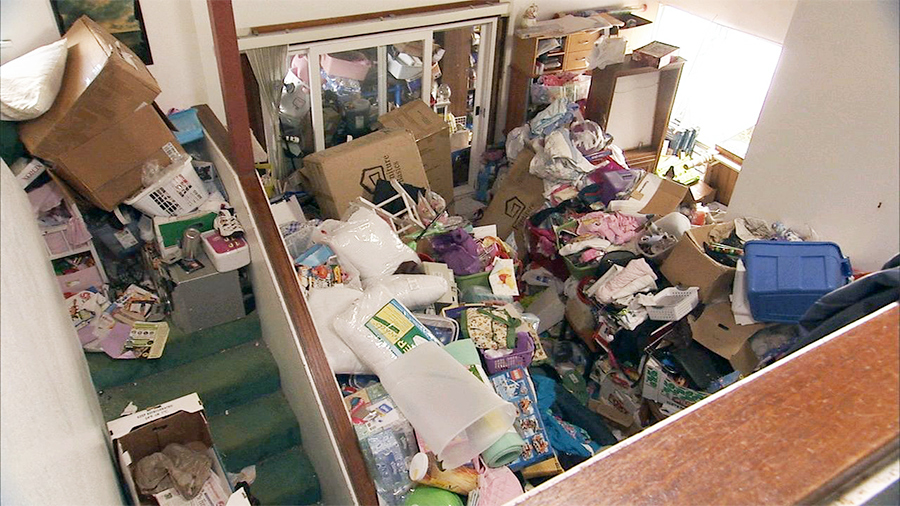 Persons Room Who Can T Throw Things Away